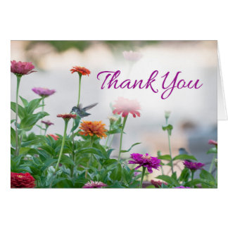 Nature Thank You Card