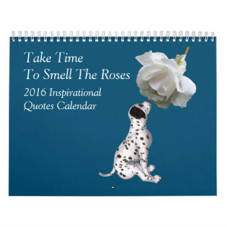 Nature Theme Inspirational Quotes Calendar