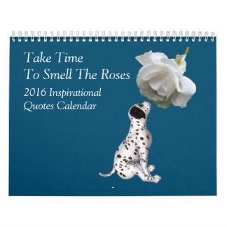 Nature Theme Inspirational Quotes Calendar