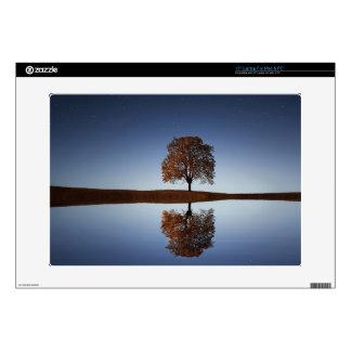 """Nature Tree Lake Reflection 15"""" PC Mac Laptop Skin"""