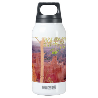 Nature Trees Autumn Mountain 10 Oz Insulated SIGG Thermos Water Bottle