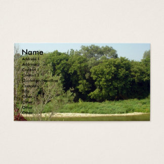 Nature, Trees Business Card