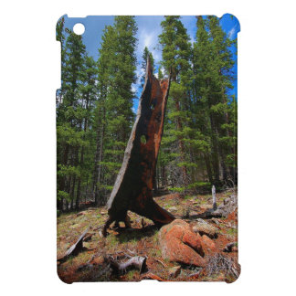 Nature Trees Hollow Caber iPad Mini Cover