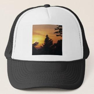 Nature Trees Sunset Bedtime Trucker Hat