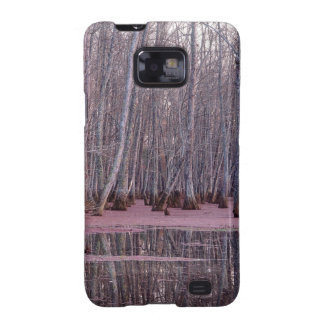 Nature Trees Winter Swamp Samsung Galaxy SII Covers