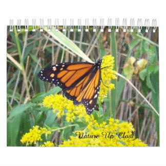Nature Up Close Calendar