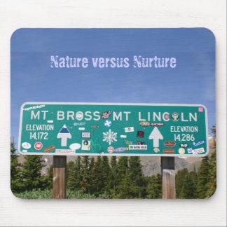Nature versus Nurture Mouse Pad