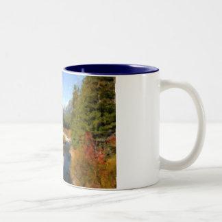 Nature Watercolor Mug