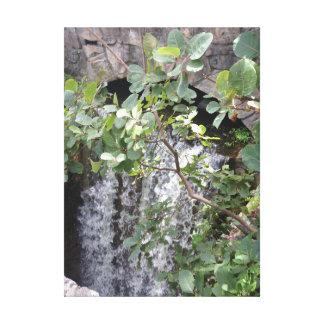 Nature Waterfall Canvas Print