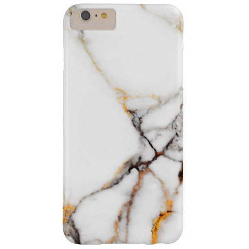 Nature White Marble Barely There iPhone 6 Plus Case