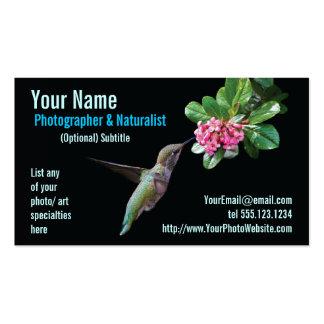 Nature & Wildlife Photographer Business Card