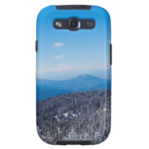 Nature Winter Moutain Top Veiw Galaxy S3 Cases