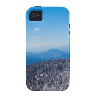 Nature Winter Moutain Top Veiw iPhone 4/4S Case