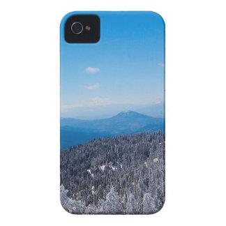 Nature Winter Moutain Top Veiw Case-Mate iPhone 4 Case