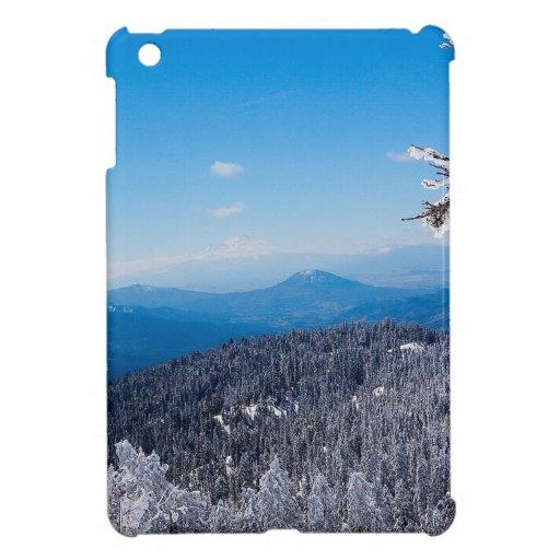 Nature Winter Moutain Top Veiw iPad Mini Cover