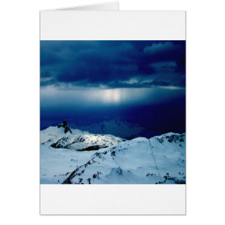 Nature Winter Perfect Whiteout Greeting Cards