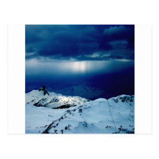 Nature Winter Perfect Whiteout Post Card