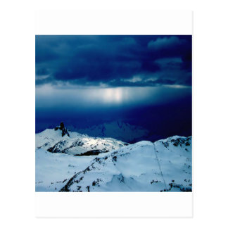 Nature Winter Perfect Whiteout Postcards