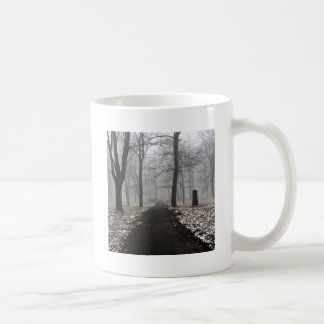 Nature Winter Quiet Parkland Classic White Coffee Mug