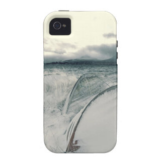 Nature Winter Whiteout Boats Case-Mate iPhone 4 Cases