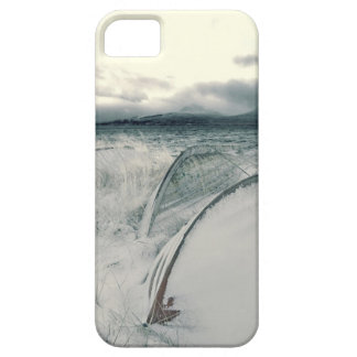 Nature Winter Whiteout Boats Cover For iPhone 5/5S