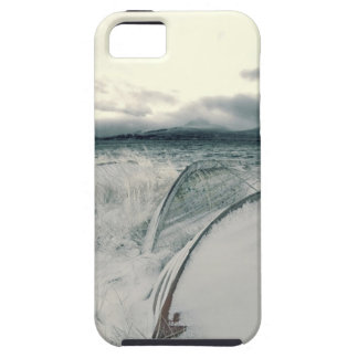 Nature Winter Whiteout Boats iPhone 5/5S Cover