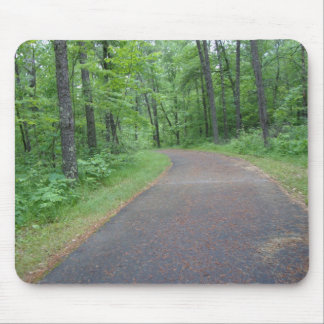 Nature Woods Forest Minnesota Pohtography Pad Art Mouse Pad
