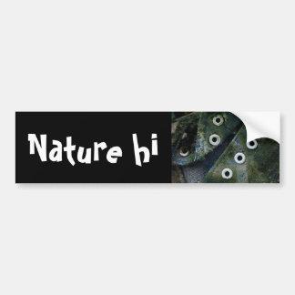 nature worn car bumper sticker