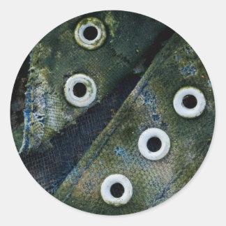 nature worn classic round sticker