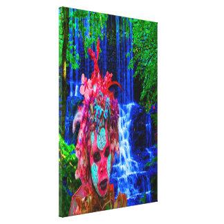 Nature Zombie Canvas Print