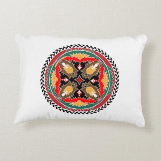 Naturea Lover's Forest Pine Cone Tribal Design Decorative Pillow
