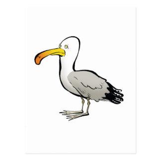 Naturel del au de la gaviota postales