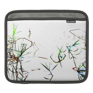 Nature's Abstract l Pond Weeds Sleeve For iPads
