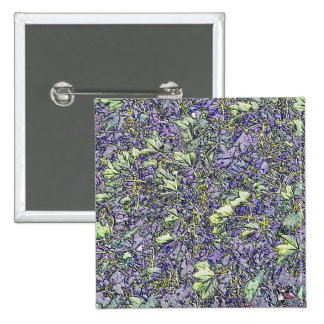 NATURES ART 2 INCH SQUARE BUTTON