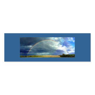 Nature's Beautiful Rainbow Mini Business Card