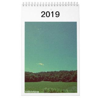 Nature's Beauty 2019 Calendar