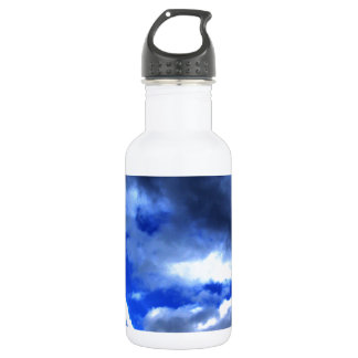 Nature's Beauty In Clouds 18oz Water Bottle
