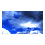 Nature's Beauty In Clouds Business Card Template