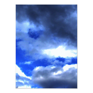 Nature's Beauty In Clouds Card