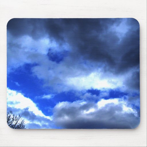 Nature's Beauty In Clouds Mouse Pad