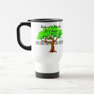 Nature's Beauty mug