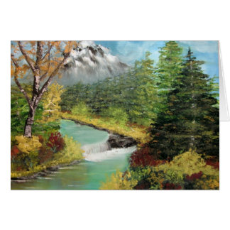 """""""NATURE'S BEAUTY""""   NOTE CARD"""