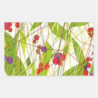 Natures Beauty Rectangular Sticker