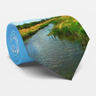 Natures Best - Prairie Creek in Summer Neck Tie