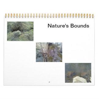 """Nature's Bounds"" Custom Printed Calendar"