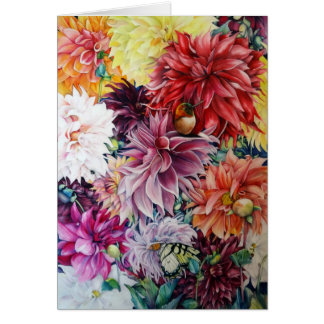 Nature's Bounty Greeting Card with evelope