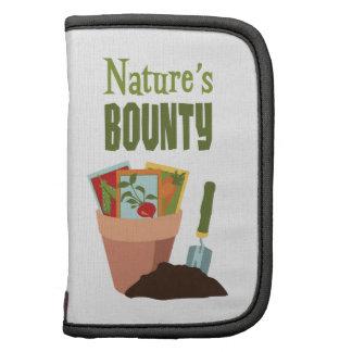 Nature's BOUNTY Folio Planner