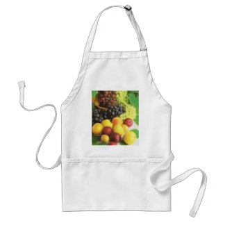 Nature's bounty - summer fruits adult apron