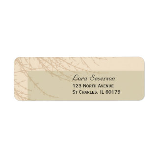 Nature's Branches Return Address Labels