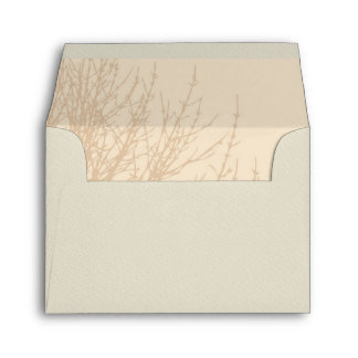 Nature's Branches RSVP Response Card Envelope